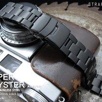 MiLTAT 20mm Oyster Bracelet, PVD Black, Common Use