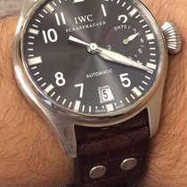 IWC Big Pilot 7 days power reserve, white gold