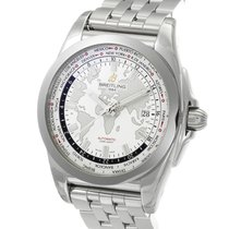 Breitling Galactic Unitime SleekT Stainless Steel 44MM