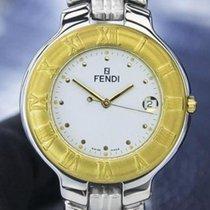 Fendi Orologi 900g Mens Or Unisex Gold-plated Quartz Dress...