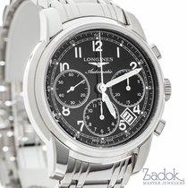 Longines Saint Imier Chronograph 41mm Black Dial Watch...