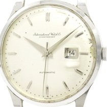 IWC Vintage Iwc Old Inter Stainless Steel Automatic Mens Watch...