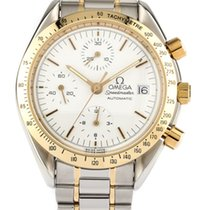 Omega 3311.20 Speedmaster Chronograph in Steel with Yellow...