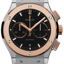 Hublot Classic Fusion 45mm Automatic Chronograph Titanium King...
