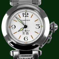 Cartier Pasha Grand Date Automatic Stainless Steel