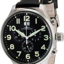 Zeno-Watch Basel -Watch Herrenuhr - Super Oversized Chrono Big...