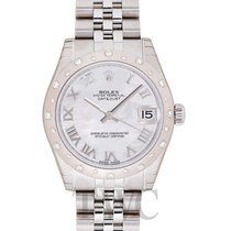 Rolex Datejust Lady 31 White MOP 18k White Gold/Steel 31mm -...