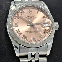 Rolex Datejust 31mm 78274 18k White Gold Bezel Jubilee Ladies...