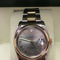 Rolex Datejust 36 mm.Gold-Steel 116203 Box&Papers 07,2008