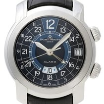 Baume & Mercier MOA08084 Capeland GMT Alarm in Steel - on...