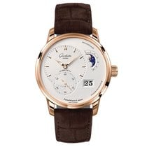 Glashütte Original Men's 1-90-02-45-35-04 PanoMaticLunar
