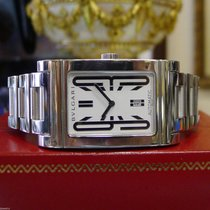 Bulgari Ladies  Rettangolo Ref. Rt45s Automatic Stainless...