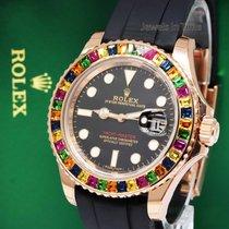Rolex NEW Rolex Yacht-Master 40 18k Rose Gold Rainbow Watch...