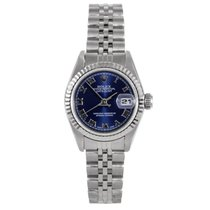 Rolex ladies 69174 Datejust - Blue Roman Numeral Dial