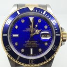 Rolex SUBMARINER DATE STEEL/GOLD BLUE DIAMONDS DIAL