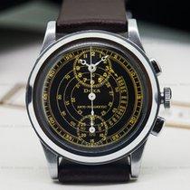 Doxa Vintage Regulator Chronograph Gilt Dial SS (24223)