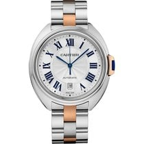 Cartier Cle de Cartier 40mm Steel and Rose Gold Watch