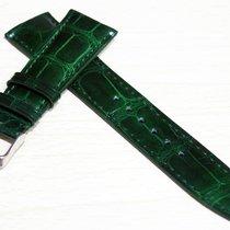 萬國 (IWC) (I010) New 22/18mm IWC Crocodile Leather Strap Big...