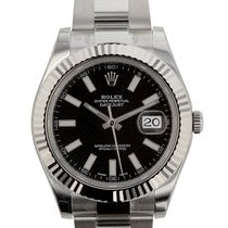 Rolex Datejust II 41mm Stainless Steel and 18K White Gold...