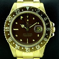 Rolex Nipple Dial GMT Master Vintage 18kt Yellow Gold, ref1675