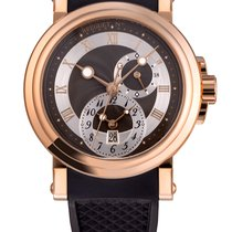 Breguet Marine Rose Gold Dual Time (GMT)