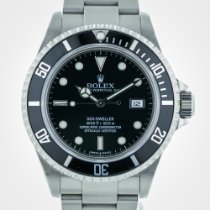 Rolex Sea Dweller, 16600, Stainless Steel, Black Dial and...
