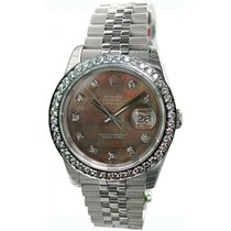 Rolex Datejust Men's Heavy Jubilee Band/Hidden Clasp Model...