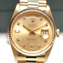 Rolex Day Date Gelbgold Diamant Zifferblatt