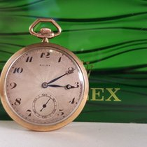 Gold Rolex pocket watch, 7 World Records, 1920s