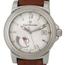 Carl F. Bucherer Carl F.  Patravi Automatic Steel Mens Strap...