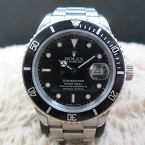 Rolex SUBMARINER 16800 Glossy Patina Dial UNPOLISHED