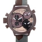 Welder Triple Time Zone Chronograph Men's Watch K29-8005
