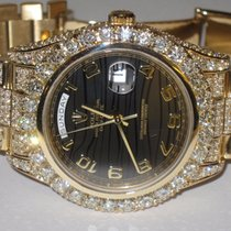 Rolex Day-Date II President 18K Solid Gold Diamnods