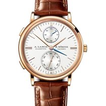 A. Lange & Söhne 386.032 Saxonia Dual Time Mens 38.5mm...