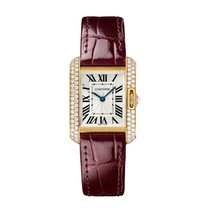 Cartier Tank Anglaise Quartz Ladies Watch Ref WT100013