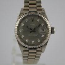 Rolex Datejust 6917 Diamant Zifferblatt #A3115 Box, Papiere