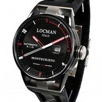 Locman Montecristo Titanium/Steel Automatic Black Dial 44mm