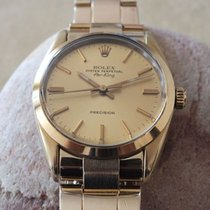Ρολεξ (Rolex) 14K Yellow Gold Shell-steel Air-King Watch Gold...