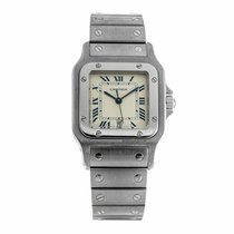 Cartier Santos de Cartier 29mm Quartz Watch 987901 (Pre-Owned)