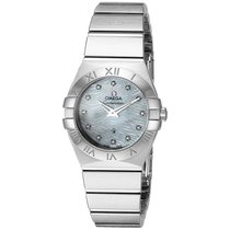 Omega Constellation MOP Diamond Dial Ladies Watch 123.10.24.60...