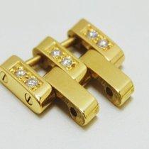 Breitling Pilotglied 750 Gold mit Brillanten, 18 mm