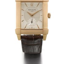 Patek Philippe | A Pink Gold Rectangular Wristwatch Ref 5111...