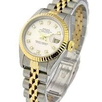 Rolex Used 79173 Ladys 2-Tone DATEJUST Jubilee Bracelet 79173...