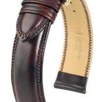 Hirsch Uhrenarmband Leder Ascot braun 01575010-1-18 18mm