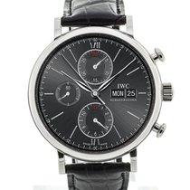 IWC Portofino Chronograph Black
