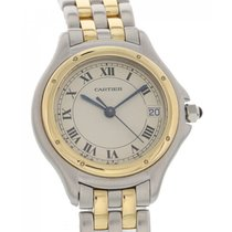 Cartier Panthere Cougar 18K Yellow Gold & SS 119000R