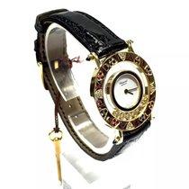 ショパール (Chopard) Happy Diamonds 18k Gold Ladies Watch W/...