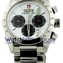 Tudor 42000-95730 Fastrider Chronograph White Dial Index...