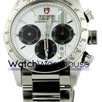 Tudor 42000-95730 Fastrider Chronograph White Dial Index...