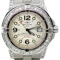 Breitling Superocean Men's White Dial Stainless Steel...